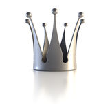 Isolated golden crown Royalty Free Stock Photo