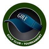 Isolated golf emblem Royalty Free Stock Image
