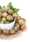 Isolated Gooseberries Royalty Free Stock Image