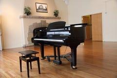 Isolated Grand Piano Royalty Free Stock Photos
