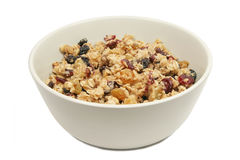 Isolated Granola Royalty Free Stock Photo
