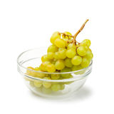Isolated Grape In Bowl Royalty Free Stock Images