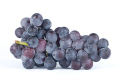 Isolated grapes Royalty Free Stock Images
