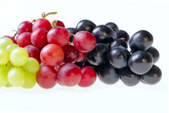Isolated grapes Stock Photo