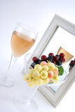 Isolated Grapes In a Glass Stock Photos