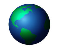 Isolated Graphic Planet Earth Royalty Free Stock Image