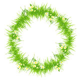 Isolated Grass Frame Royalty Free Stock Images