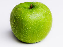Isolated Green Apple Royalty Free Stock Photos