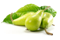 Isolated Green Pear Stock Image