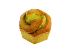Isolated Green Tea Muffin Royalty Free Stock Image