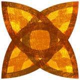 Isolated Grunge Symbol Stock Photo