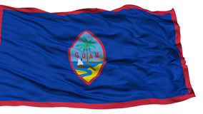 Isolated Guam Flag, USA state Stock Images