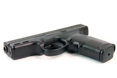 Isolated gun Royalty Free Stock Image