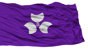 Isolated Gunma Japan Prefecture Flag Royalty Free Stock Photography