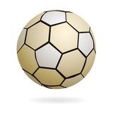 Isolated handball soccer ball Royalty Free Stock Image
