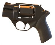 Isolated handgun Royalty Free Stock Images
