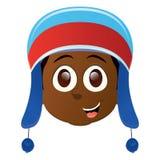 Happy kid avatar Royalty Free Stock Photography