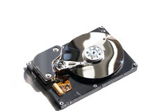 Isolated hard drive Royalty Free Stock Images