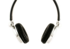 Isolated Head phones. An isolated image of some headphones Royalty Free Stock Photo