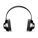Isolated headphone Stock Photography