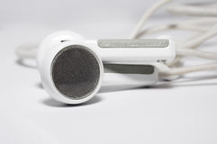Isolated headphones. On white background royalty free stock photos