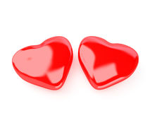 Isolated heart Royalty Free Stock Images