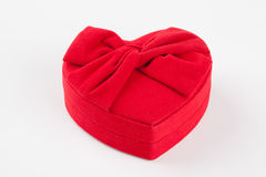 Isolated heart chocolate box. Heart chocolate for valentine day Royalty Free Stock Image