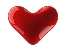 Isolated heart on a white background. Stock Images