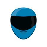 Isolated helmet of formula racing concept Stock Photo