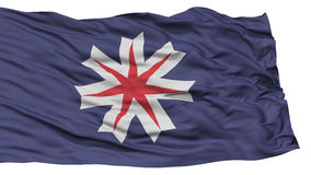 Isolated Hokkaido Japan Prefecture Flag Royalty Free Stock Photography