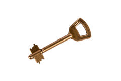 Isolated home key. With white background Stock Photos