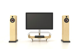Isolated Home Theater Royalty Free Stock Images