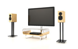 Isolated Home Theater Royalty Free Stock Image