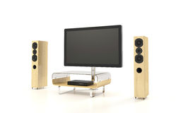 Isolated Home Theater Royalty Free Stock Photography