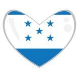 Isolated Honduran flag Stock Image