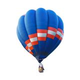 Isolated hot air balloon. The Isolated hot air balloon Stock Photography