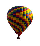 Isolated hot air balloon Royalty Free Stock Photography