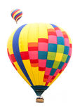 Isolated Hot Air Balloons Royalty Free Stock Photography