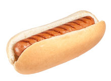 Isolated Hotdog Stock Image
