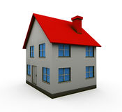 Isolated house Stock Photo