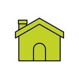 Isolated house design Stock Photos