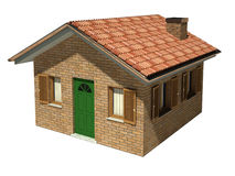 Isolated house model Royalty Free Stock Photo