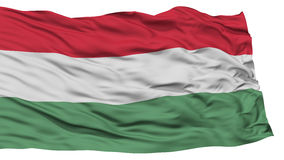 Isolated Hungary Flag Stock Photo