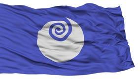 Isolated Ibaraki Japan Prefecture Flag Royalty Free Stock Photography