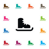 Isolated Ice Boot Icon. Skating Vector Element Can Be Used For Skating, Ice, Boot Design Concept. Royalty Free Stock Image
