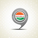 Isolated icon for Republic Day Royalty Free Stock Image