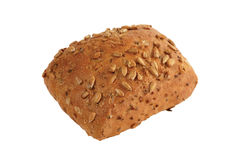 Isolated bread. Isolated image of bread on white background royalty free stock image