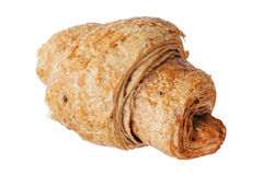 Isolated image of delicious bagels close-up. Stock Photo