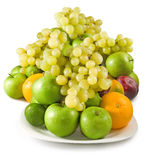 Isolated image of fruits closeup Royalty Free Stock Photos