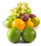 Isolated image of fruits closeup Royalty Free Stock Photo